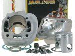 Malossi MHR Replica 70 ccm-es alumínium hengerszett (Fekvőhengeres Minarelli AC , 10 mm)