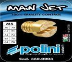 Polini 10db-os főfúvóka szett (Dellorto - 5mm) (Többféle kivitelben!)