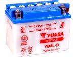 Yuasa YB4L-B + SAV nyitott rendszerű akkumulátor (121x71x93)
